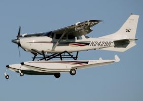 Cessna T-206 by shelbs2