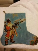 Steampunk Santa completed by CampbellsCrossStitch