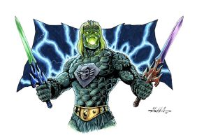 Masters of the Universe - Castle Grayskullman by Killersha