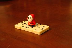 Shyguy and Dominos III by ShawnHenry