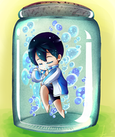 Haru in a bottle by AmeUchikina-Chan
