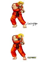 KEN : STREET FIGHTER II by viniciusmt2007