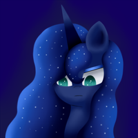Annoyed Luna by King-Sombrero