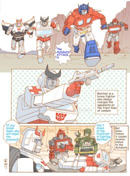 TF: The Autobots' Medical Officer 2/2 by megamidori