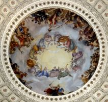 The Apotheosis of Washington by 44NATHAN