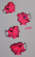 Cash doodles by pie-lord