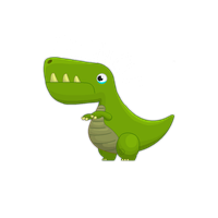 SAD DINO! for my Cube World Episode (COMING SOON!) by TheToxicDoctor