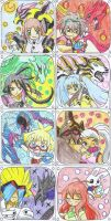 Bakugan: Main Character Stamps by AshRob89