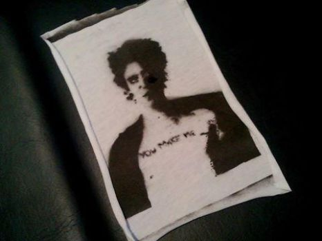 Richard Hell stencil by bambiartavadz