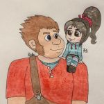 Ralph and Vanellope ~ Best Friends by PilloTheStarplestian