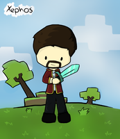 YOGSCAST Xephos by CrystalBluePuppy