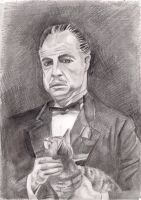 Vito Corleone by dark-biscuit