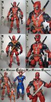 Custom Marvel Icons Deadpool by KyleRobinsonCustoms