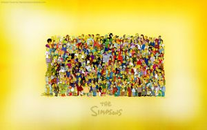 My Simpsons Wallpaper by sampsonx