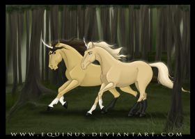 Two Moving As One by Equinus