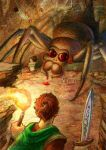 Inside the Spider's Labyrinth by thinhnguyenart