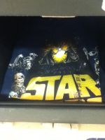 wow still have star wars t-shirts by Kingdomhearts1994