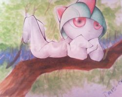 Pokemon Ralts by PrisCosplay