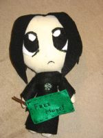 Snape Plushie by bubble-blower1991