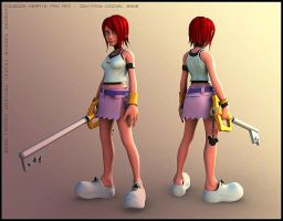 Kairi : Kingdom Hearts I by HazardousArts