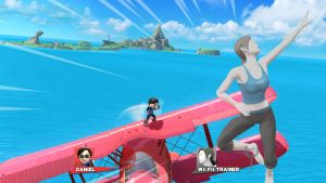 Smashing the Screen: Wii Fit Trainer by PortalMasterDan64