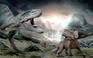 Walking With Dinosaurs 3-D conversion by MVRamsey