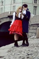 Aph_Austria and Hungary_cos05 by ItsuChi