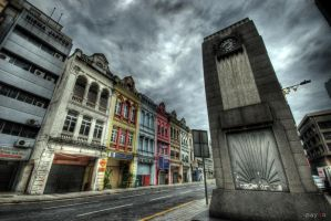 HDR - KL Archaic Shophouses 01 by mayonzz