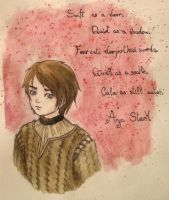 Arya Stark by Rena-chanRyuugu