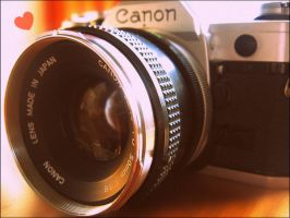 Canon AE-1 by KataQueen