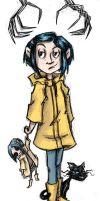Coraline Jones by msciuto
