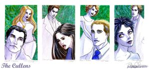 The Cullens - Portrait Series by purplerebecca