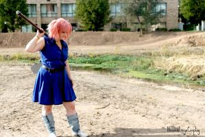 I'm ready to fight by Blessedfreyacosplay