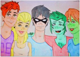 Young Justice by CynderSparx