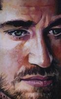 Gerard Butler ACEO by sullen-skrewt