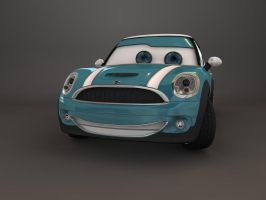 Disney Cars Mini Cooper No.2 by c4dazubi08