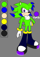 [Reference Sheet] ..::Uranus The Hedgehog 2017::.. by XxArturoJuliboxX