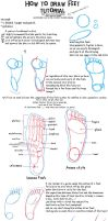 TUTORIAL: How to draw feet by ToxicPinku