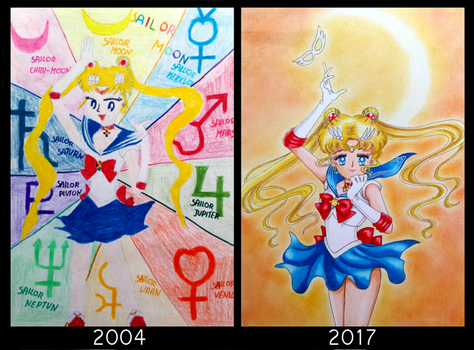 Draw this again - Sailor Moon by Jaenelle-20