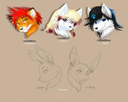 Headshots - 03 by Silberry