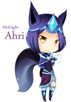 Midnight Ahri by KlockworkKat