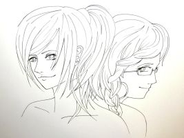 -Twins- WIP by Erin59