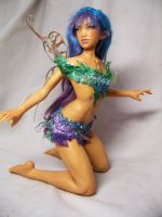 """Rei"" ooak fairy by AmandaKathryn"