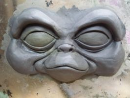 Gremlins and Gizmo Project: WIP Gizmo face sculpt by TheForgottenImp