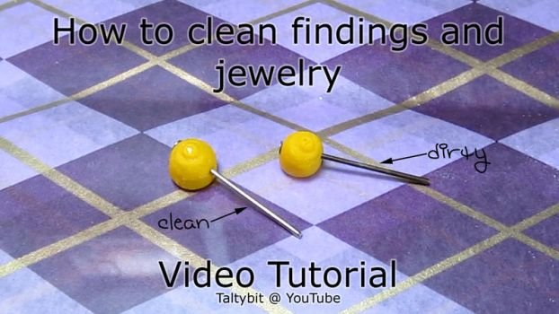 How to Clean Jewelry Tutorial (Video) by Talty