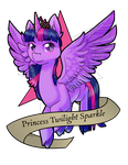 MLP: Princess Twilight by Crazy-Luna
