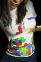 2:365 - Tetris t-shirt by BehindTheWrath