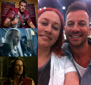 Craig Parker and me by AsliBayrak