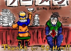 Thanks for 50 hits by SirLadySketch