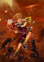 Kingdom Hearts 2 - Sora by Scorptique